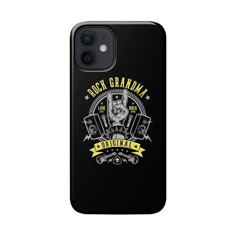 Rock Grandma Accessories Phone Case by Olipop Art & Design Shop