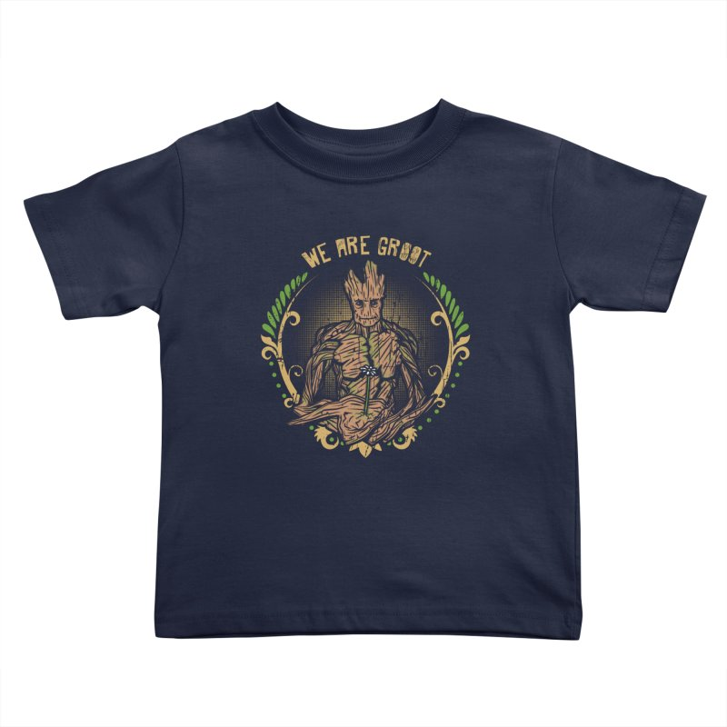 A Root for You Kids Toddler T-Shirt by Olipop Art & Design Shop
