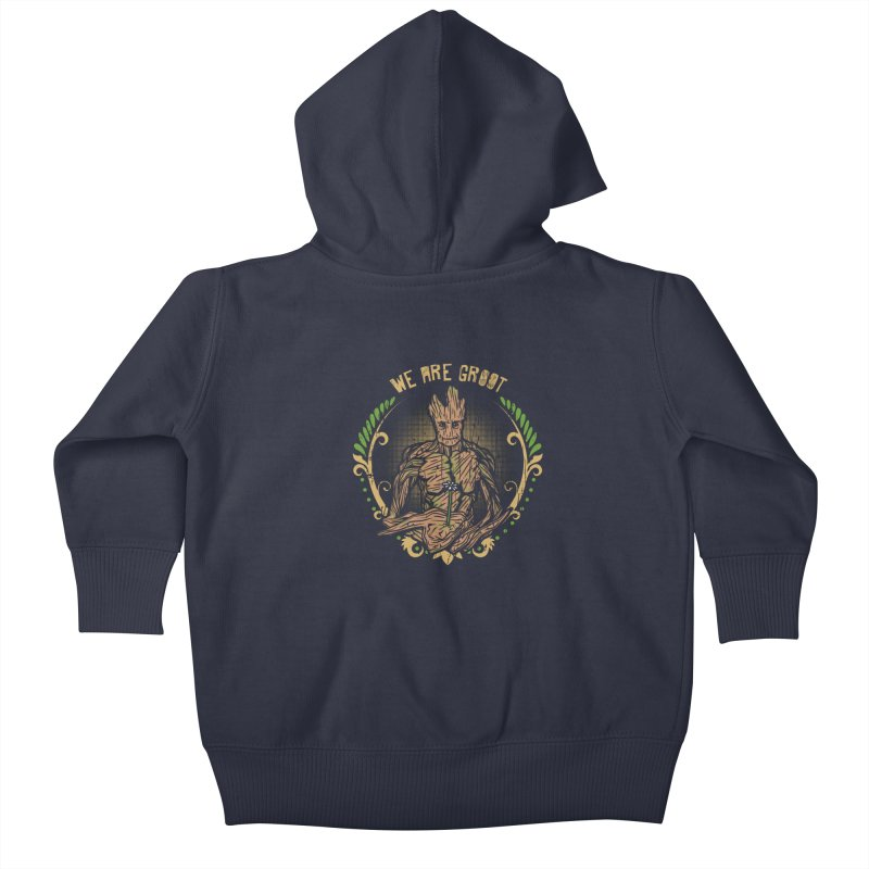 A Root for You Kids Baby Zip-Up Hoody by Olipop Art & Design Shop
