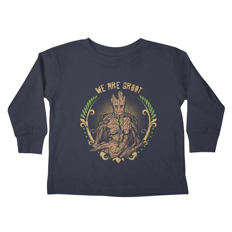 A Root for You Kids Toddler Longsleeve T-Shirt by Olipop Art & Design Shop