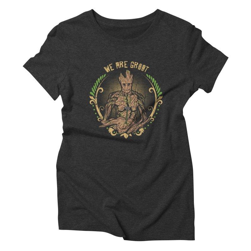 A Root for You Women's Triblend T-Shirt by Olipop Art & Design Shop