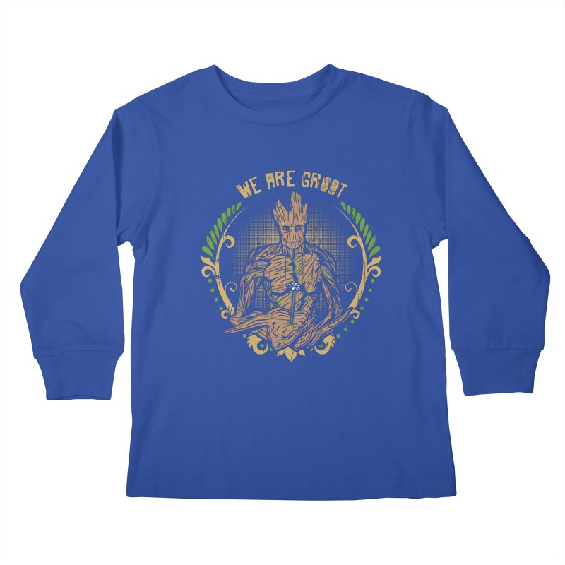 A Root for You Kids Longsleeve T-Shirt by Olipop Art & Design Shop
