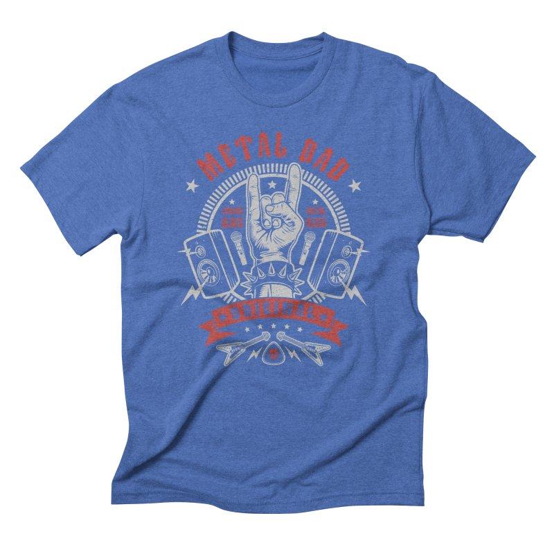 Metal Dad Men's T-Shirt by Olipop Art & Design Shop