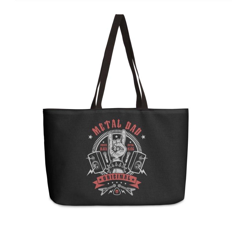 Metal Dad Accessories Bag by Olipop Art & Design Shop