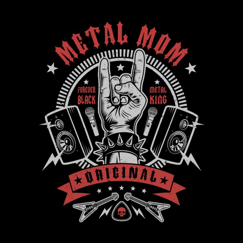 Metal Mom Men's T-Shirt by Olipop Art & Design Shop