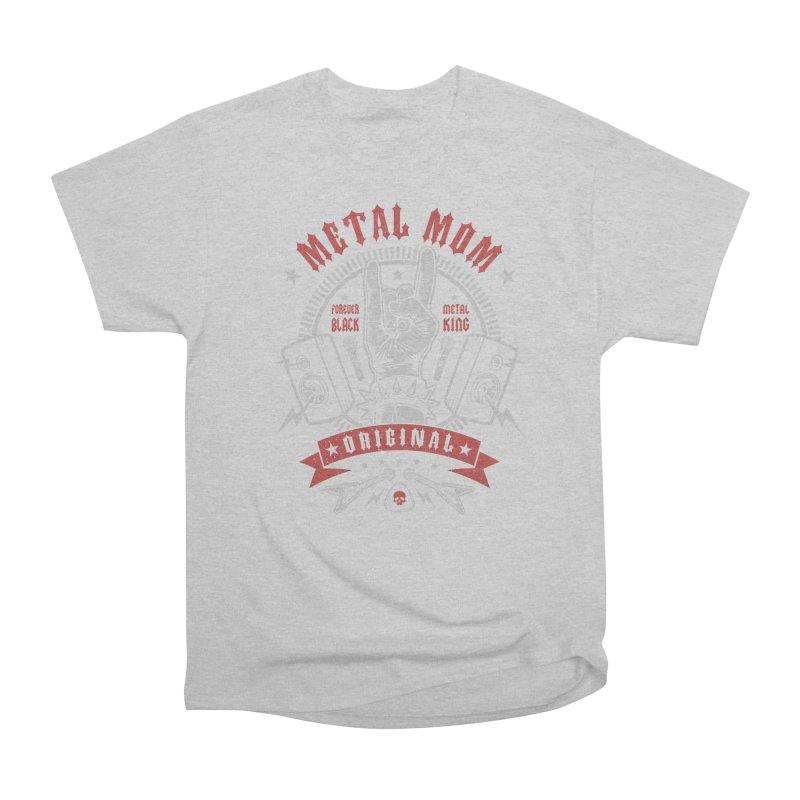 Metal Mom Men's T-Shirt by Olipop Art & Design Shop