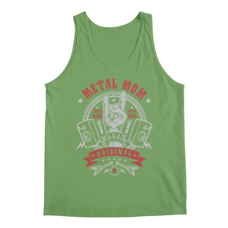 Metal Mom Men's Tank by Olipop Art & Design Shop