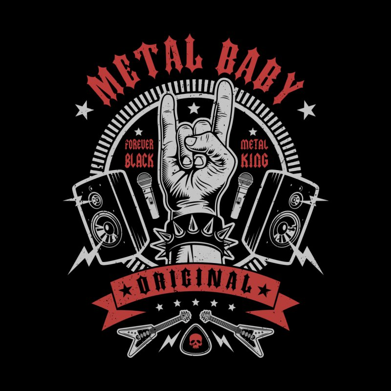 Metal Baby Men's T-Shirt by Olipop Art & Design Shop