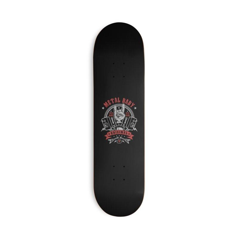 Metal Baby Accessories Skateboard by Olipop Art & Design Shop