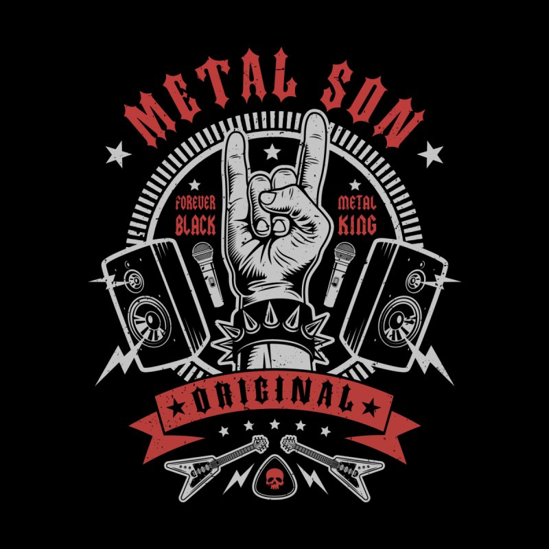 Metal Son Men's T-Shirt by Olipop Art & Design Shop