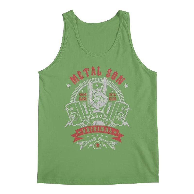 Metal Son Men's Tank by Olipop Art & Design Shop