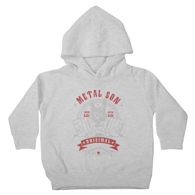 Metal Son Kids Toddler Pullover Hoody by Olipop Art & Design Shop