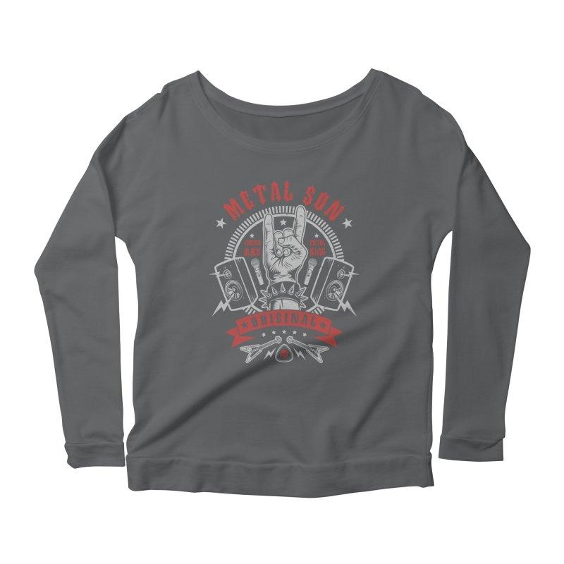 Metal Son Women's Longsleeve T-Shirt by Olipop Art & Design Shop