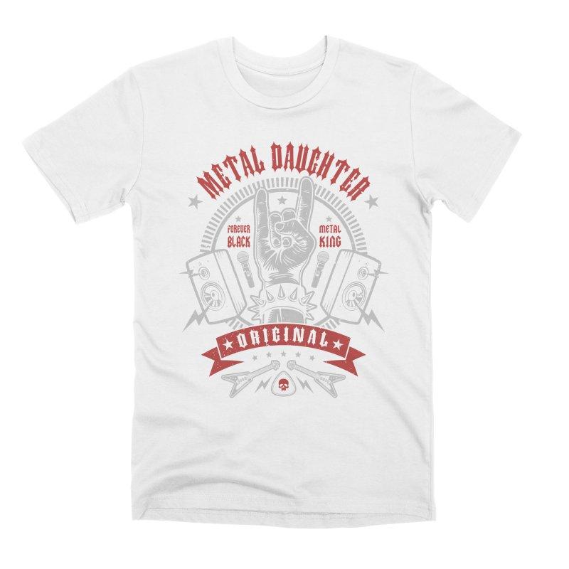Metal Daughter Men's T-Shirt by Olipop Art & Design Shop