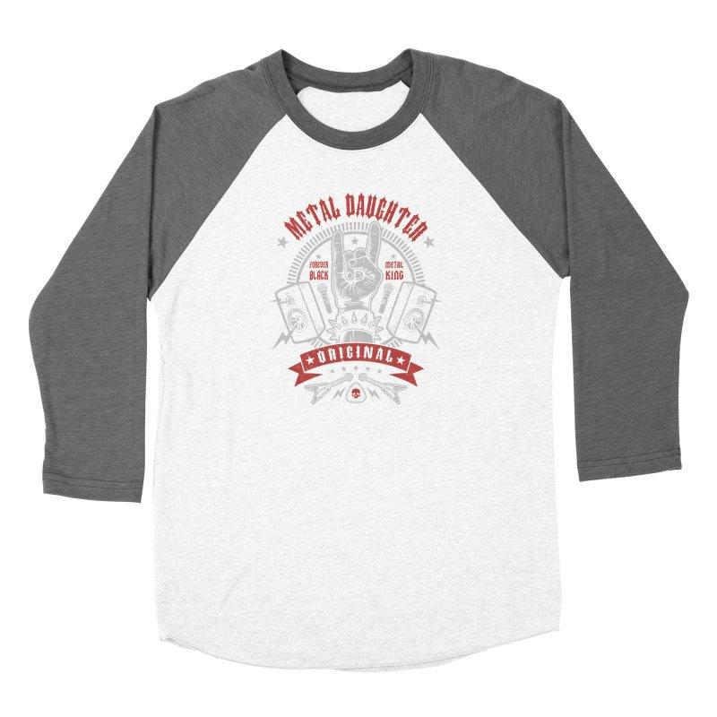 Metal Daughter Women's Longsleeve T-Shirt by Olipop Art & Design Shop