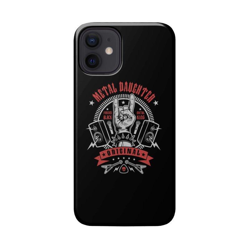 Metal Daughter Accessories Phone Case by Olipop Art & Design Shop