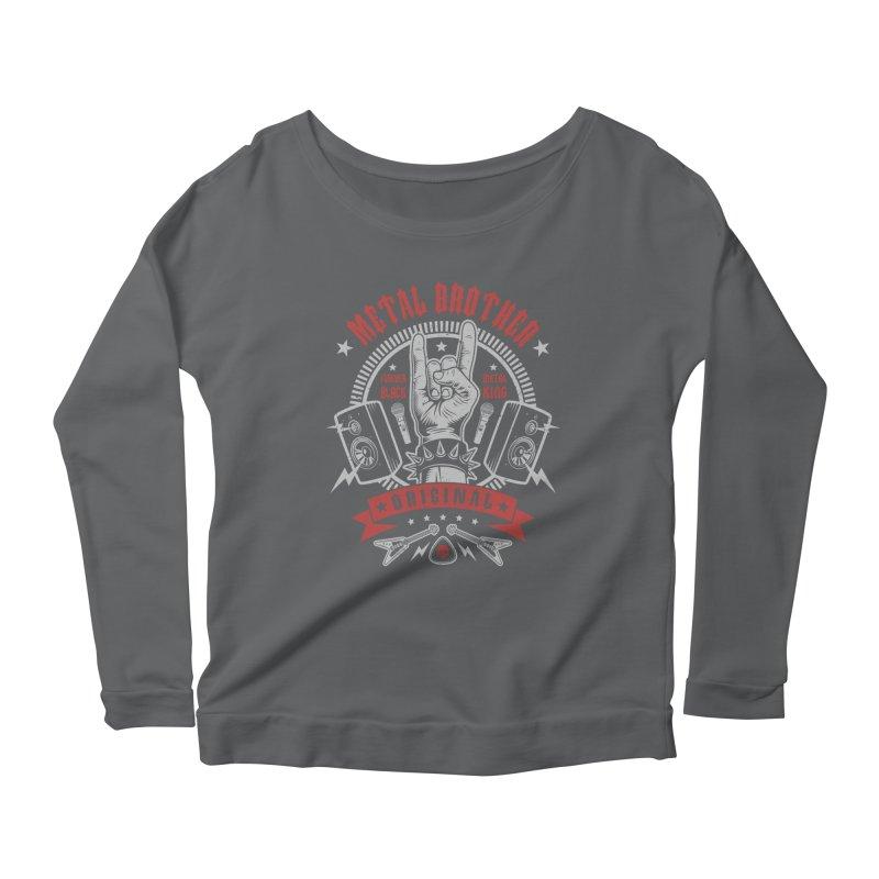 Metal Brother Women's Longsleeve T-Shirt by Olipop Art & Design Shop