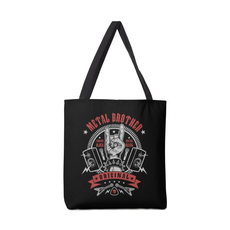 Metal Brother Accessories Bag by Olipop Art & Design Shop