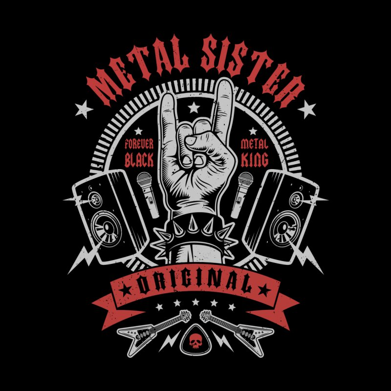 Metal Sister Men's T-Shirt by Olipop Art & Design Shop