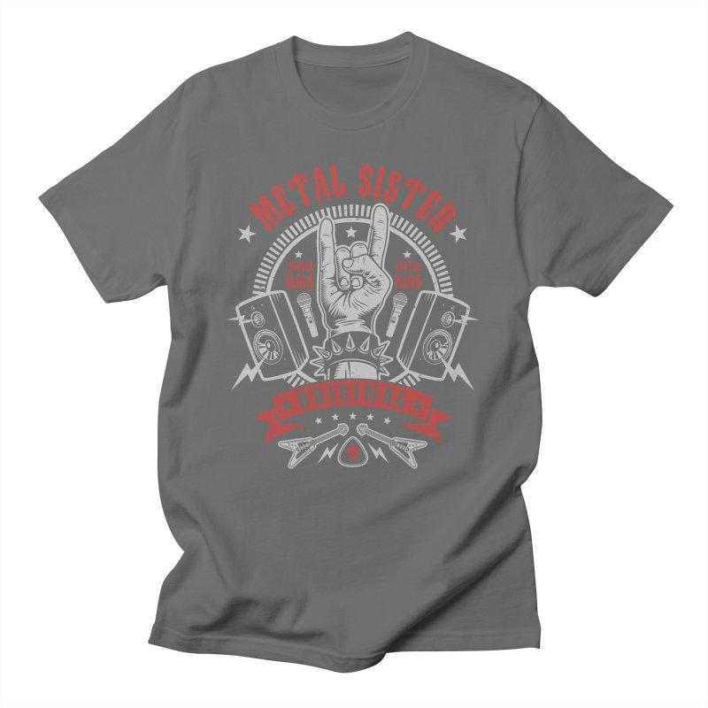 Metal Sister Men's T-Shirt by Olipop Art & Design Shop