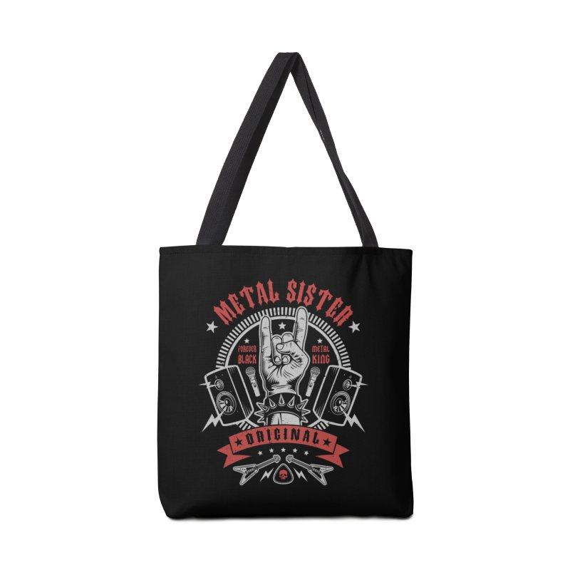 Metal Sister Accessories Bag by Olipop Art & Design Shop