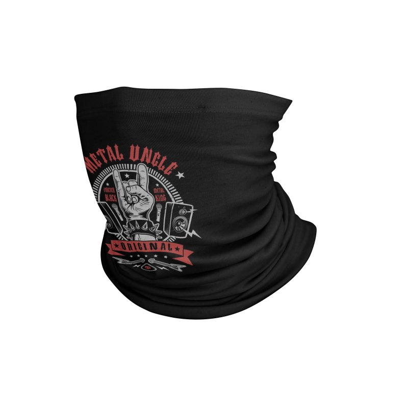 Metal Uncle Accessories Neck Gaiter by Olipop Art & Design Shop