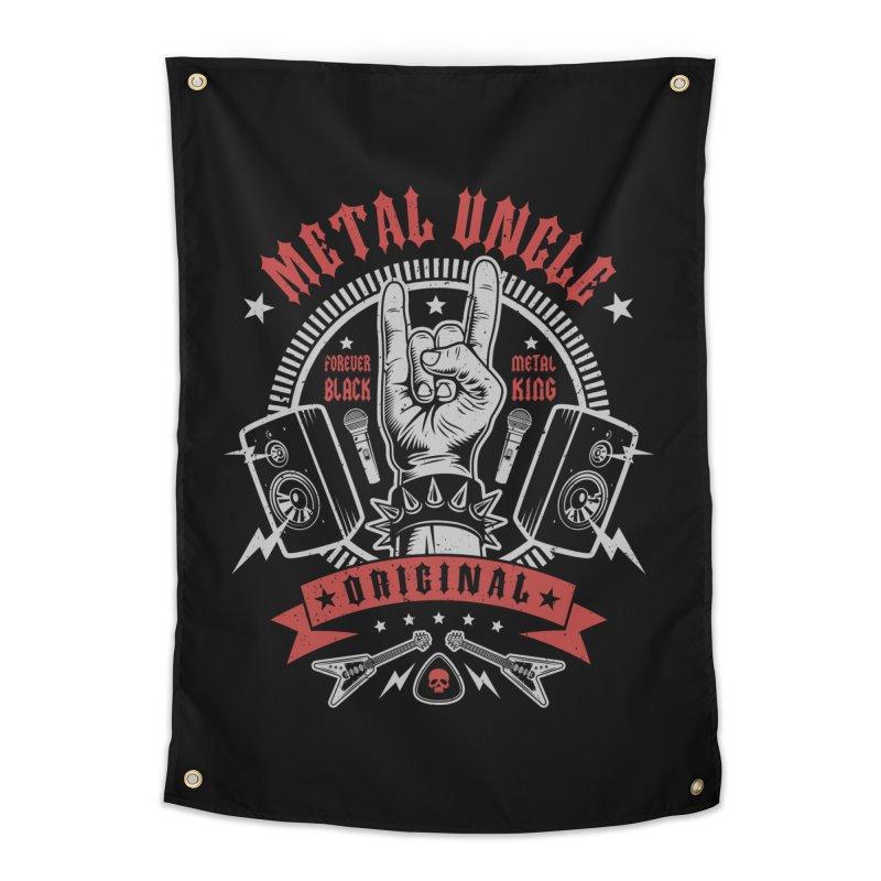 Metal Uncle Home Tapestry by Olipop Art & Design Shop