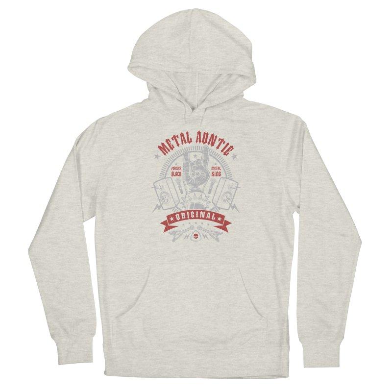 Metal Auntie Men's Pullover Hoody by Olipop Art & Design Shop