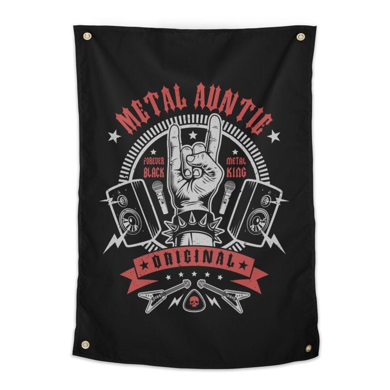Metal Auntie Home Tapestry by Olipop Art & Design Shop