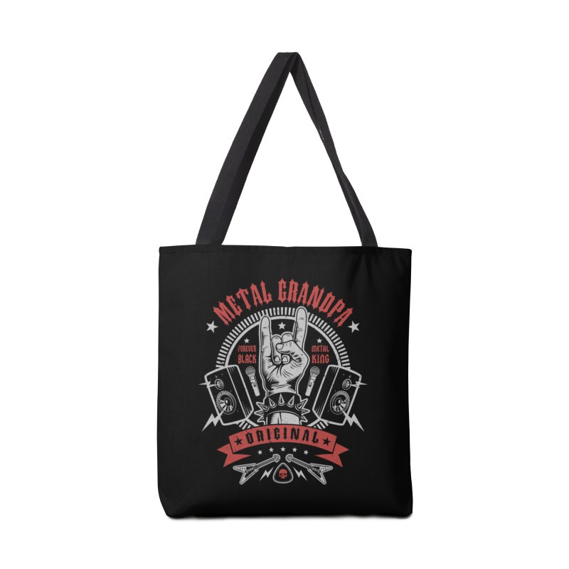 Metal Grandpa Accessories Bag by Olipop Art & Design Shop