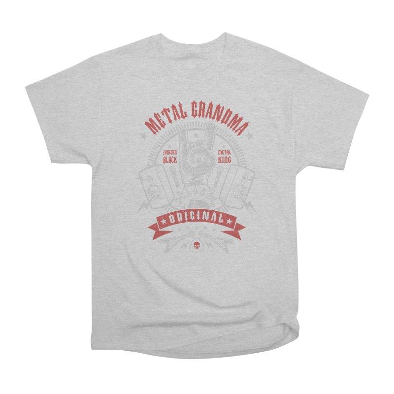 Metal Grandma Men's T-Shirt by Olipop Art & Design Shop