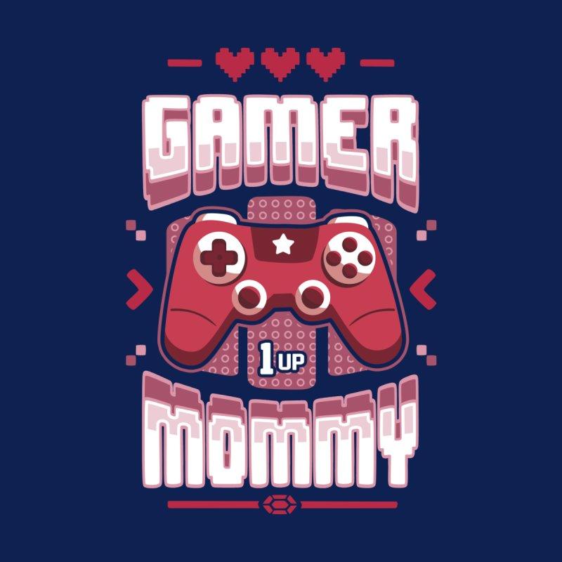 Gamer Mommy Women's Longsleeve T-Shirt by Olipop Art & Design Shop