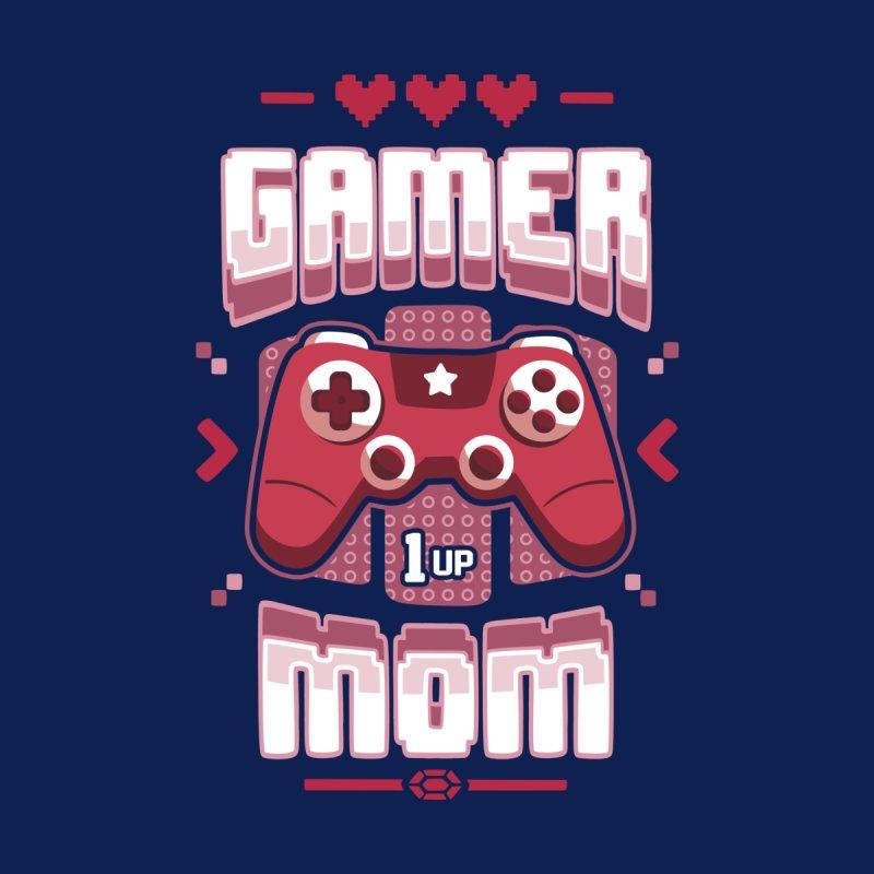 Gamer Mom Women's Longsleeve T-Shirt by Olipop Art & Design Shop
