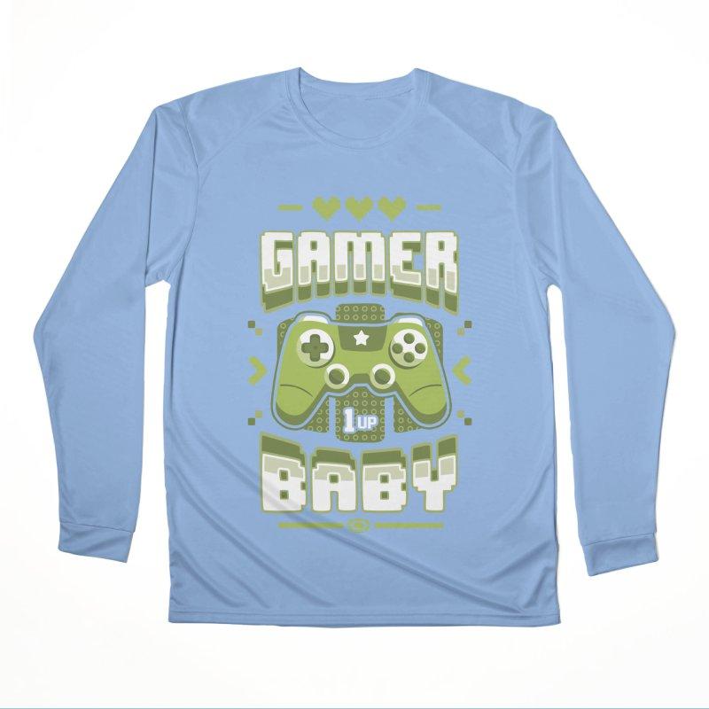 Gamer Baby Women's Longsleeve T-Shirt by Olipop Art & Design Shop