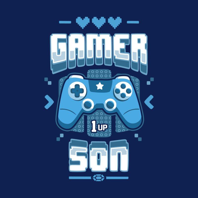 Gamer Son Women's Longsleeve T-Shirt by Olipop Art & Design Shop
