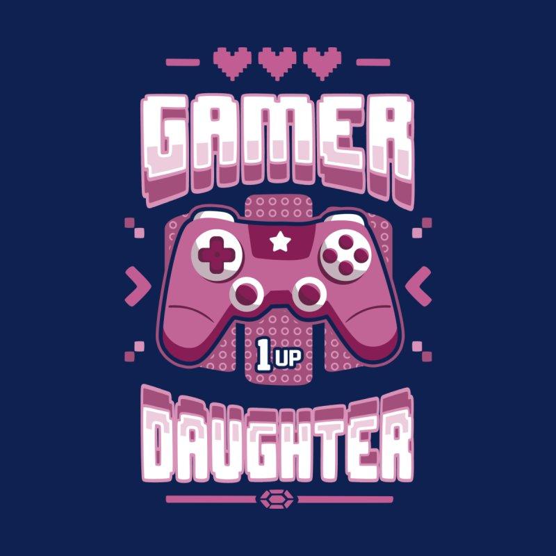 Gamer Daughter Women's Longsleeve T-Shirt by Olipop Art & Design Shop