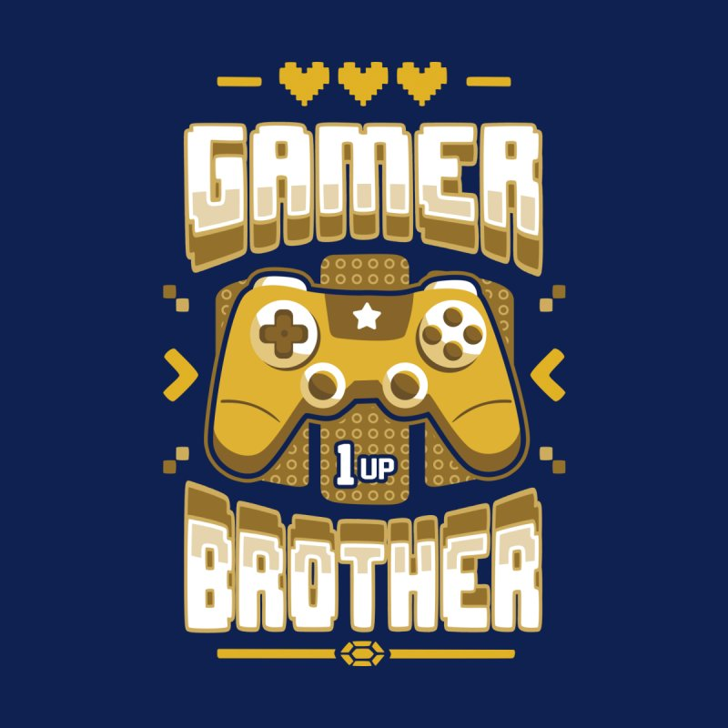 Gamer Brother Women's Longsleeve T-Shirt by Olipop Art & Design Shop