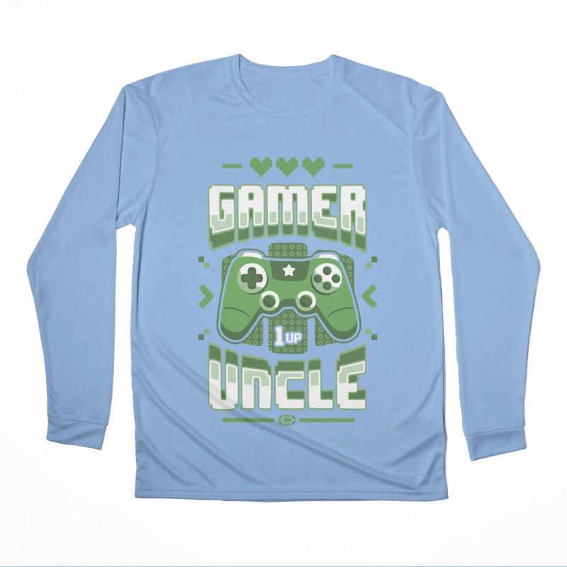 Gamer Uncle Women's Longsleeve T-Shirt by Olipop Art & Design Shop