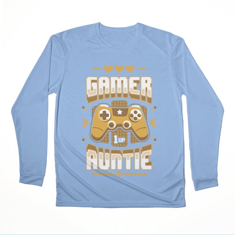 Gamer Auntie Women's Longsleeve T-Shirt by Olipop Art & Design Shop