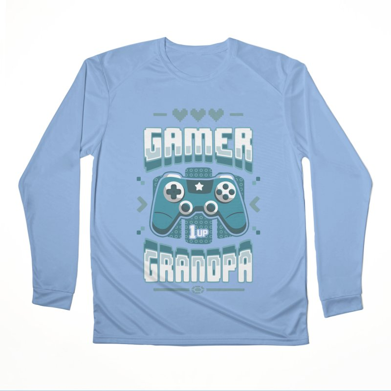 Gamer Grandpa Women's Longsleeve T-Shirt by Olipop Art & Design Shop