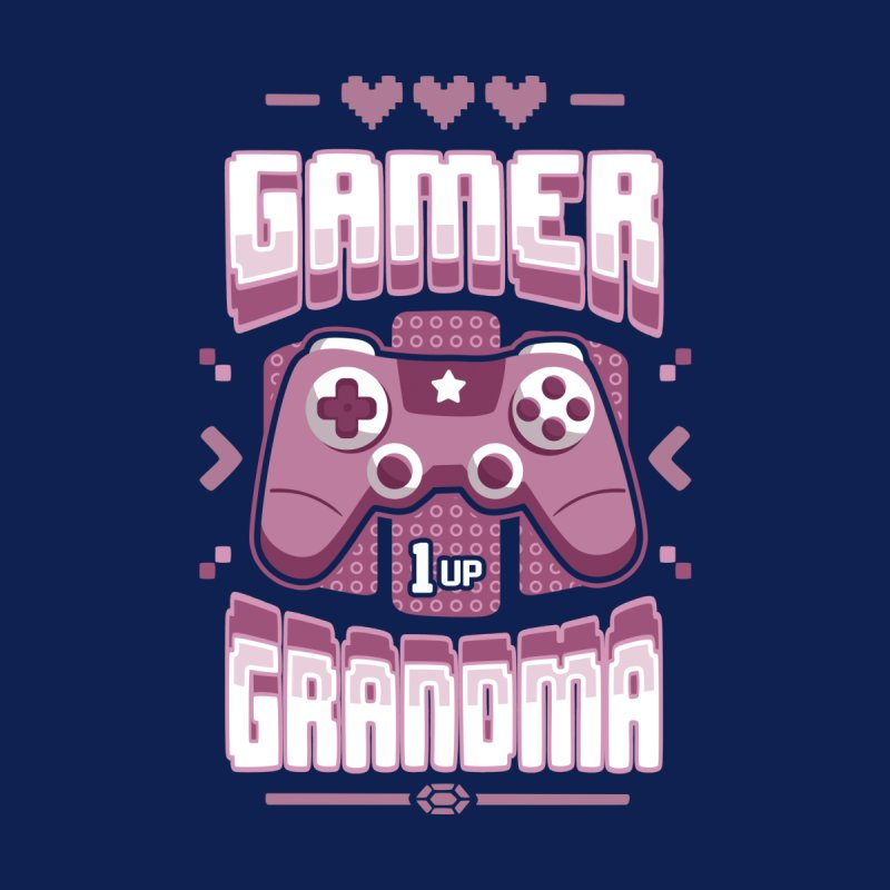 Gamer Grandma Women's Longsleeve T-Shirt by Olipop Art & Design Shop