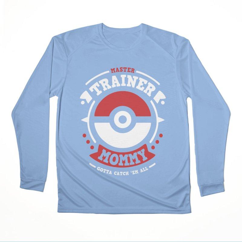 Trainer Mommy Women's Longsleeve T-Shirt by Olipop Art & Design Shop