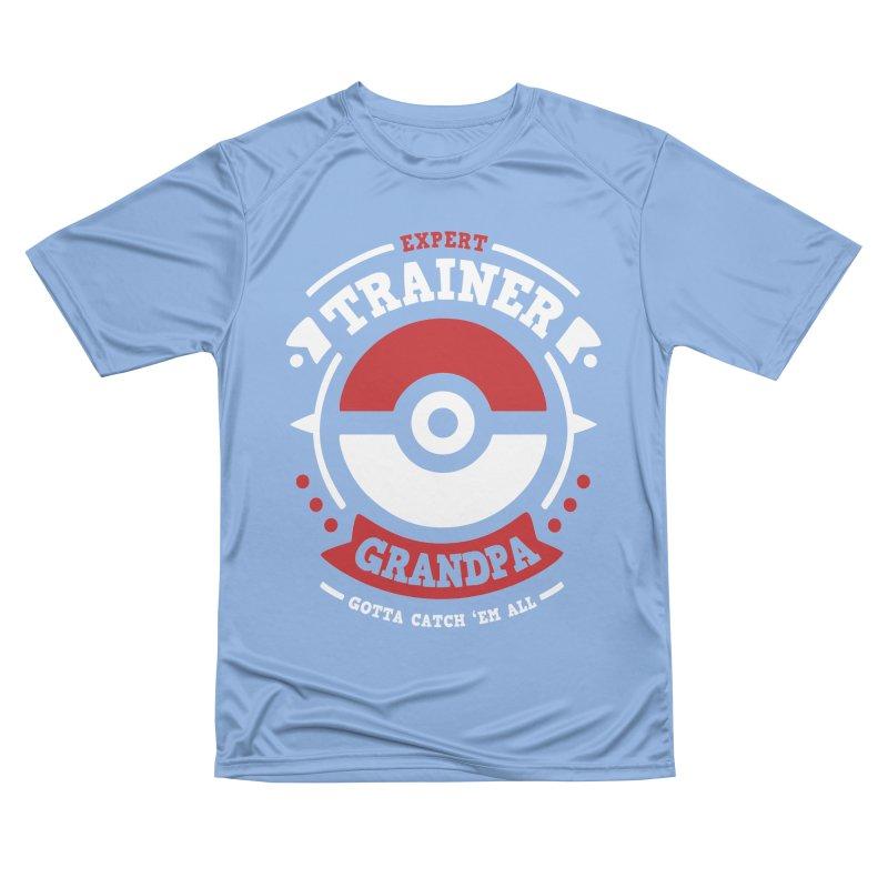 Trainer Grandpa Men's T-Shirt by Olipop Art & Design Shop
