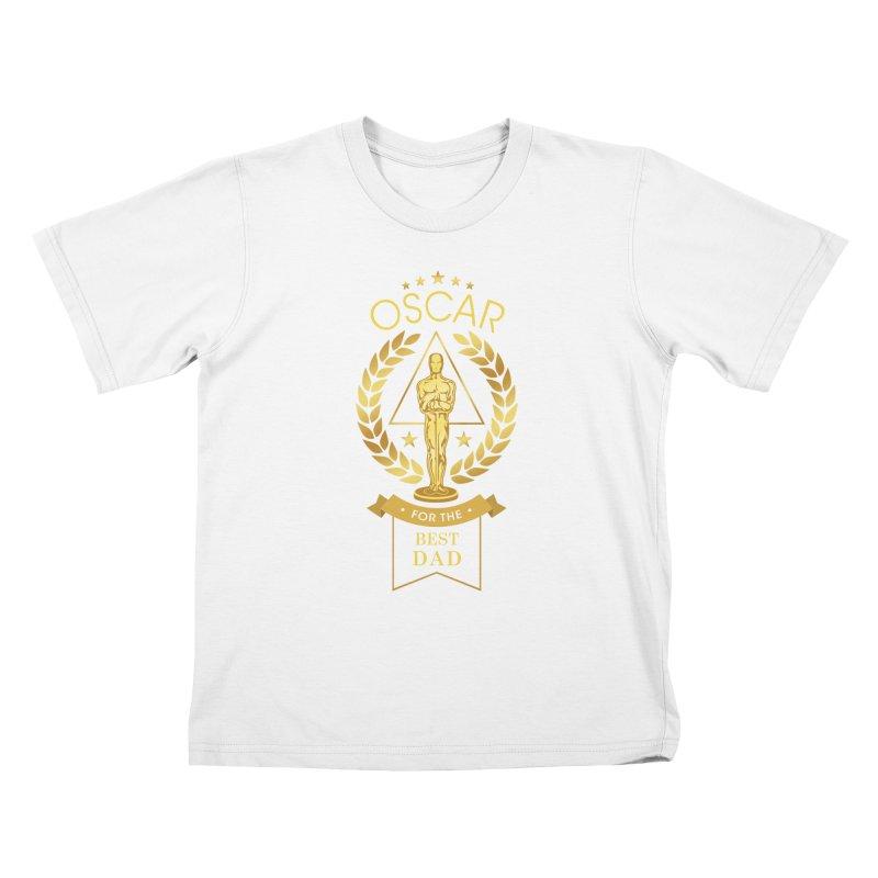 Award-Winning Dad Kids T-Shirt by Olipop Art & Design Shop