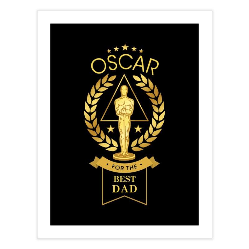 Award-Winning Dad Home Fine Art Print by Olipop Art & Design Shop