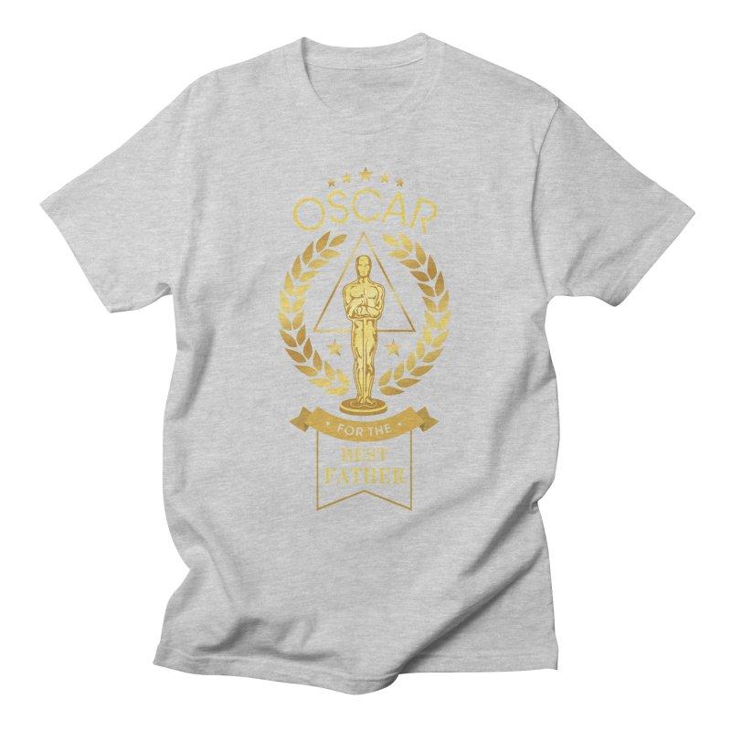 Award-Winning Father Men's T-Shirt by Olipop Art & Design Shop