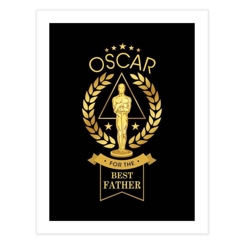Award-Winning Father Home Fine Art Print by Olipop Art & Design Shop