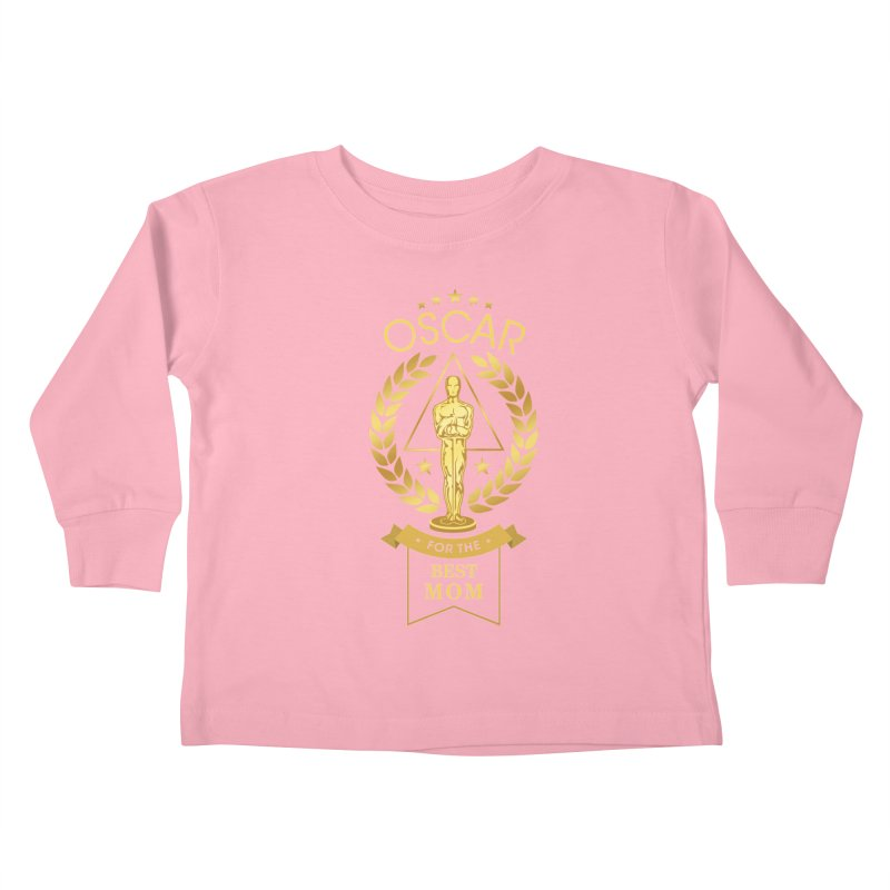 Award-Winning Mom Kids Toddler Longsleeve T-Shirt by Olipop Art & Design Shop