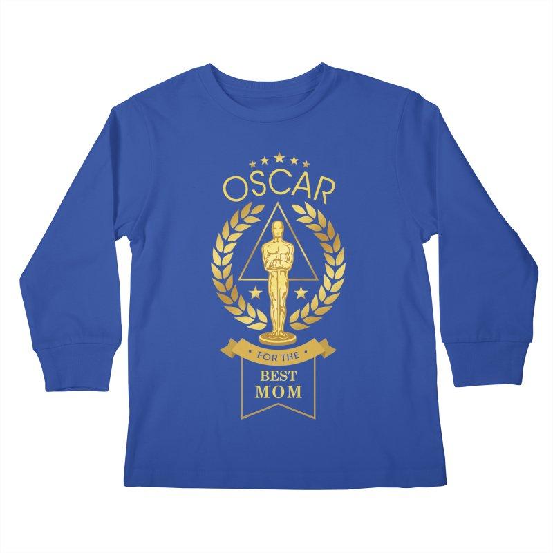 Award-Winning Mom Kids Longsleeve T-Shirt by Olipop Art & Design Shop