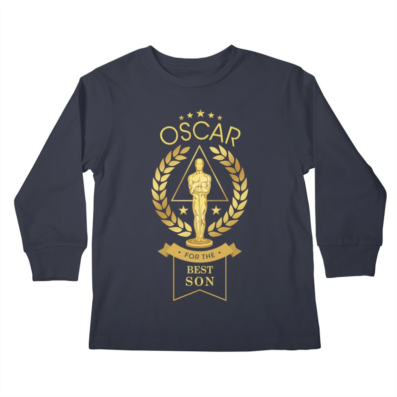 Award-Winning Son Kids Longsleeve T-Shirt by Olipop Art & Design Shop